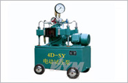 Electric hydro test pump(4D-SY)