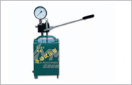 Simplex manual hydraulic test pump